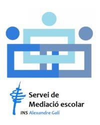 Logo mediació escolar