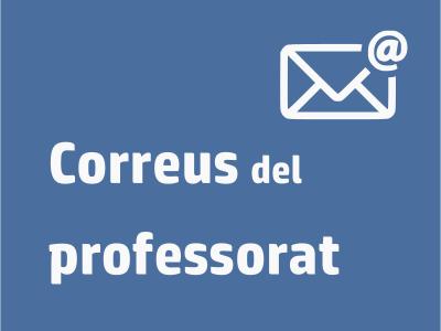 Enllaç Correus professorat