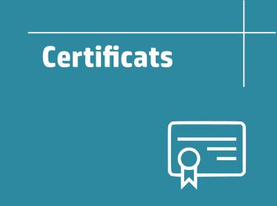 Enllaç certificats
